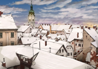 01Painting of Karlovac