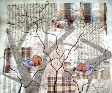 bozena_wojtaszek_spring_birds_textile_art_process1